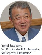 Yohei Sasakawa WHO Goodwill Ambassador for Leprosy Elimination