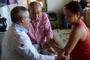 ⑥個人宅での新規の患者を見つけるための診察